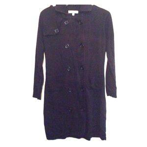 CAbi Black sweater dress